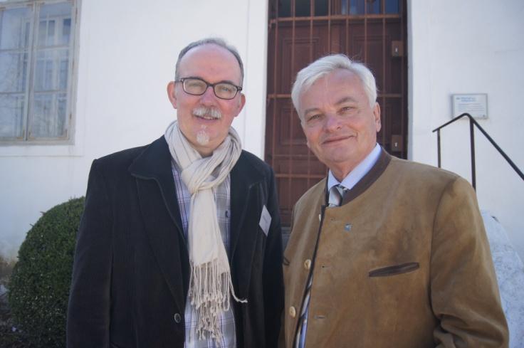 Dr. Richard Edl (Verein Freunde Museumsdorf Nieddersulz) und Bgm. Herbert Nowohradsky (Landtagspräsident a.D.)